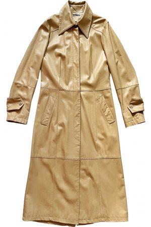 Atos Lombardini Leather trench coat