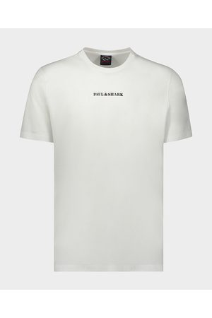 Paul & Shark Men Short Sleeve - Organic Cotton T-Shirt With Printed