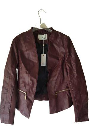 Relish Vegan leather short vest