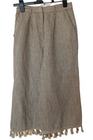 Manila Grace Linen large pants