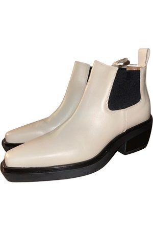 LIVIANA CONTI Leather biker boots