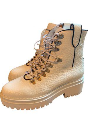 Nubikk Leather biker boots