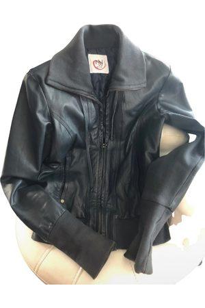 New York & Company Leather short vest