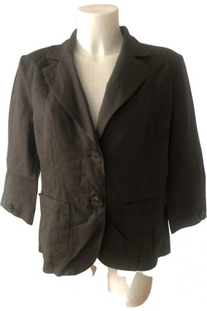 KRIZIA Linen short vest