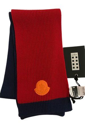 Moncler Wool scarf & pocket square