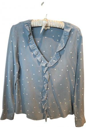 Sézane Spring Summer 2019 silk blouse