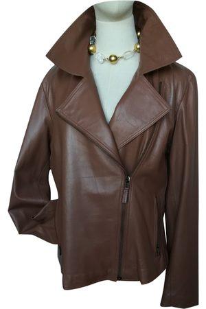 Cavalli Class Leather biker jacket