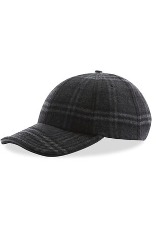 Burberry Men Caps - Wool Check Cap