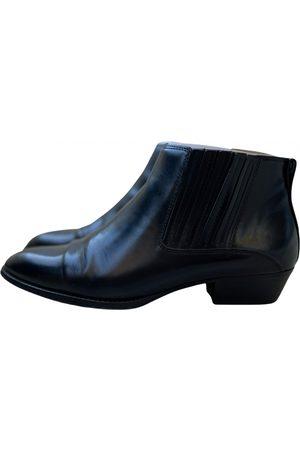 Massimo Dutti Leather western boots