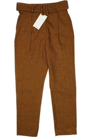 UTERQUE Linen trousers