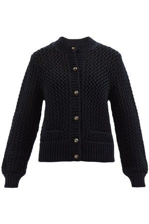 Dolce & Gabbana Women Cardigans - Logo-buttons Wool Cardigan - Womens