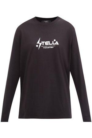 Stella McCartney Logo-print Cotton-jersey Sweatshirt - Womens - &