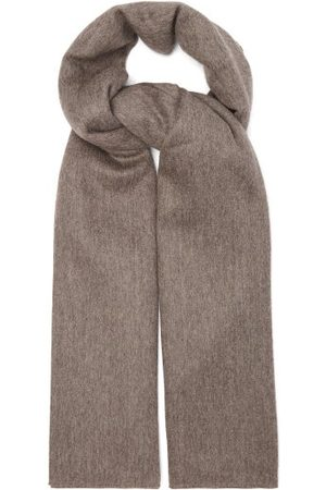 Raey Alpaca Blanket Scarf - Womens - Dark Grey