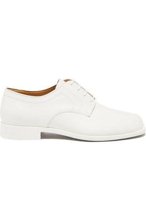 Maison Margiela Men Formal Shoes - Tabi Split-toe Rubber Derby Shoes - Mens