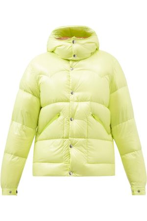 Moncler Coutard Hooded Quilted Down Coat - Mens - Light