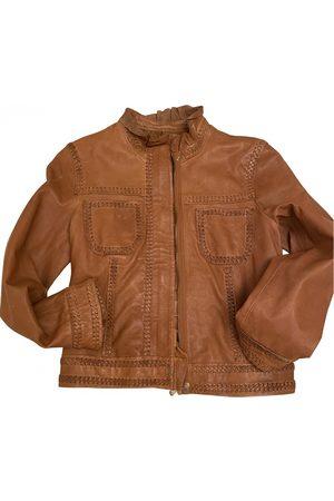 RED Valentino Leather biker jacket