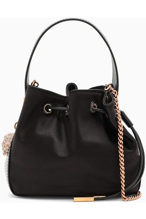 VERSACE Women Luggage - Satin mini bucket bag