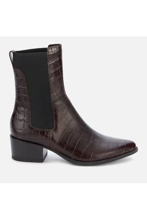 Vagabond Women Chelsea Boots - Women's Marja Embossed Leather Western Boots