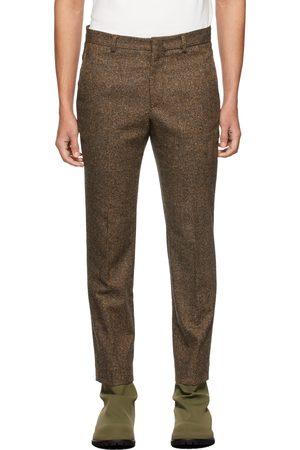 424 FAIRFAX Brown Slim Trousers