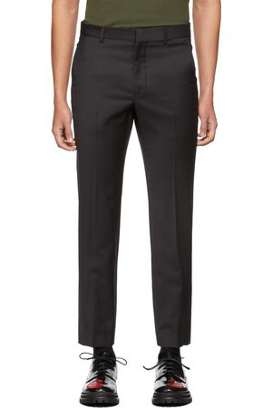 424 FAIRFAX Grey Slim Trousers