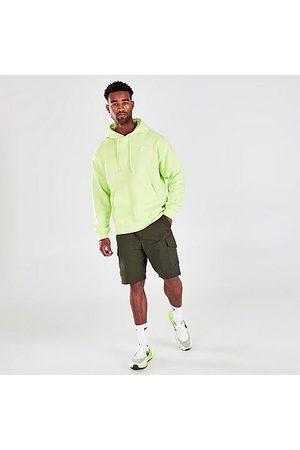 Nike Men's Sportswear Unlined Utility Cargo Shorts in Green/Sequoia Size X-Small Cotton/Nylon