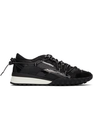 Dsquared2 Black Legend Low-Top Sneakers