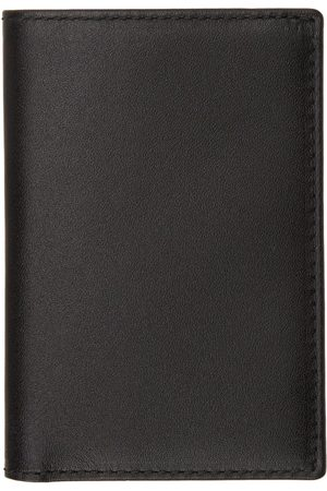 Comme des Garçons Black Classic Foldover Bifold Card Holder