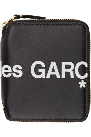 Comme des Garçons Black Huge Logo Zip-Around Wallet