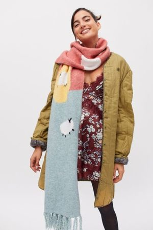 Urban Outfitters Scene Knit Scarf