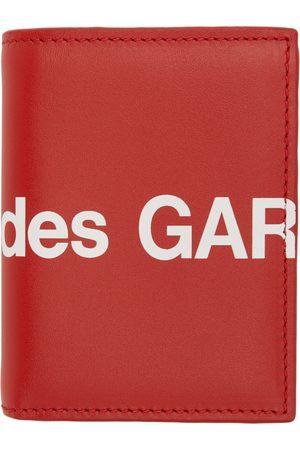 Comme des Garçons Red Huge Logo Card Holder