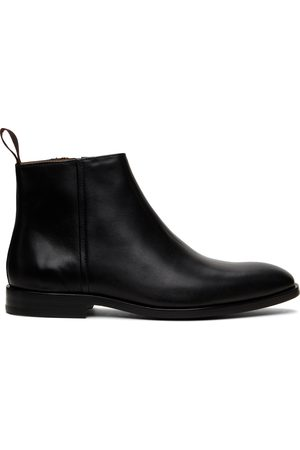 Paul Smith Leather Alan Zip-Up Boots