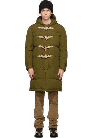 DoppiaA Khaki Down Parka Coat