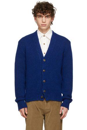 DoppiaA Blue Aaliano Knit Cardigan