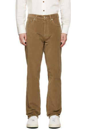 DoppiaA Brown Aacero Corduroy Trousers