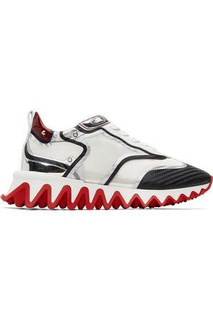 Christian Louboutin Men Sneakers - Black & Silver Sharkina Sneakers