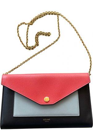 Céline Pocket leather handbag