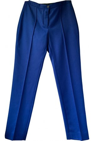 EUDON CHOI Wool straight pants