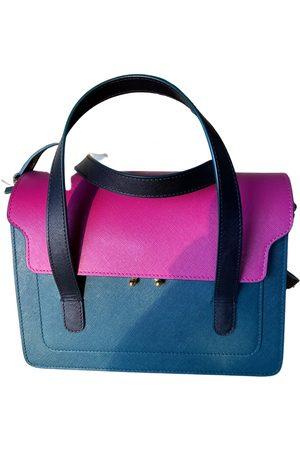 Marni Trunk leather handbag