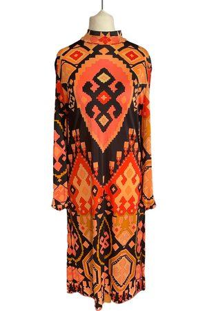 Leonard Silk mid-length dress