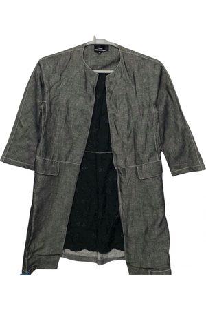 Comme des Garçons Linen trench coat