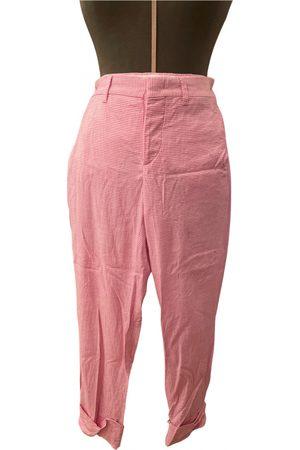 Miu Miu Wool straight pants