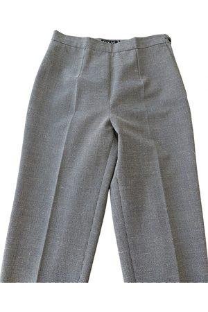 ALBERTO BIANI Wool straight pants