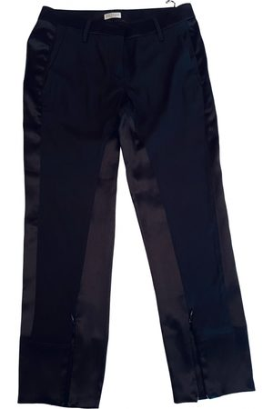 Brunello Cucinelli Silk straight pants