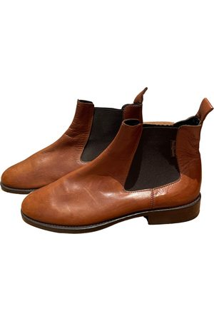 RUSSELL & BROMLEY Leather ankle boots