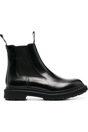 Etudes Leather Chelsea boots
