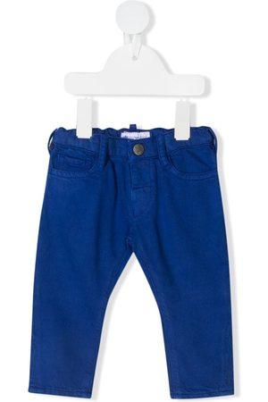 Emporio Armani Cotton-lyocell trousers