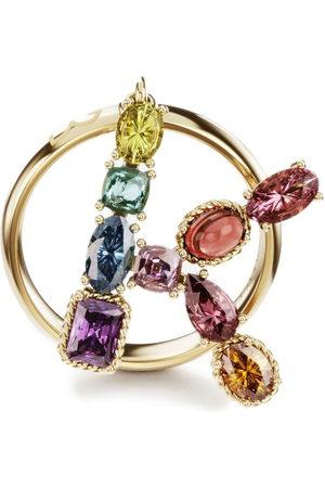 Dolce & Gabbana 18kt yellow Rainbow Alphabet K ring