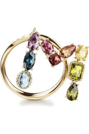 Dolce & Gabbana 18kt yellow Rainbow Alphabet M ring