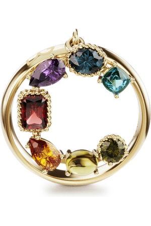 Dolce & Gabbana Women Rings - 18kt yellow Rainbow Alphabet C ring