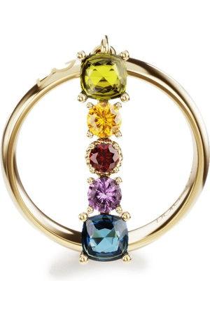 Dolce & Gabbana Women Rings - 18kt yellow Alphabet Rainbow I ring